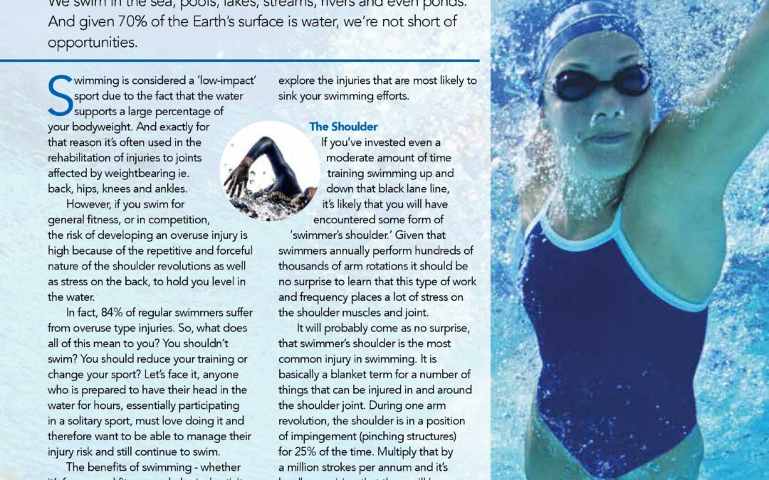 Sink or Swim – Treating and Preventing Swimming Injuries