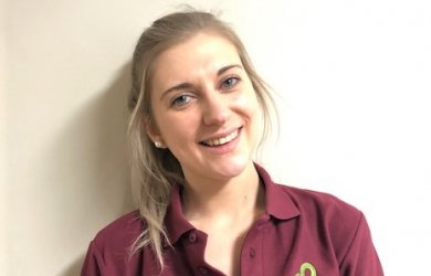 Meet Megan Walsh – a new addition to our Physiotherapist Tea